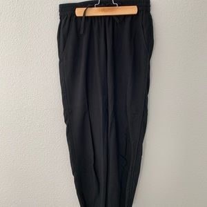 Madewell Black Track Trouser